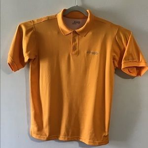 Columbia PFG orange vented polo. XLarge